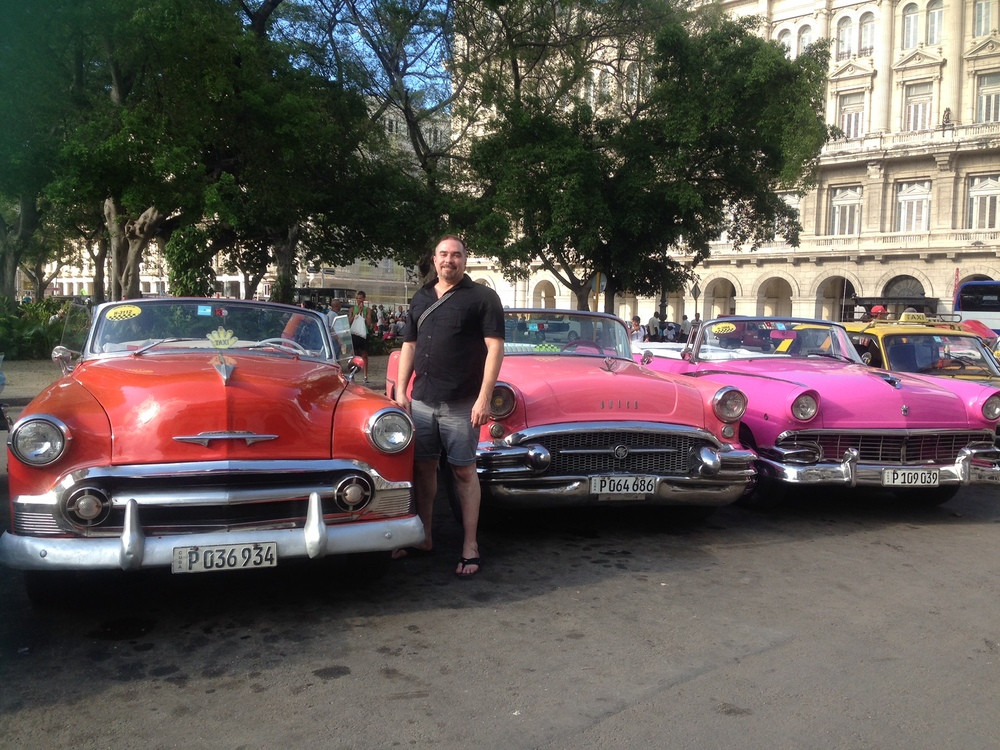 RWF Founder Jeff Cotter in Havana
