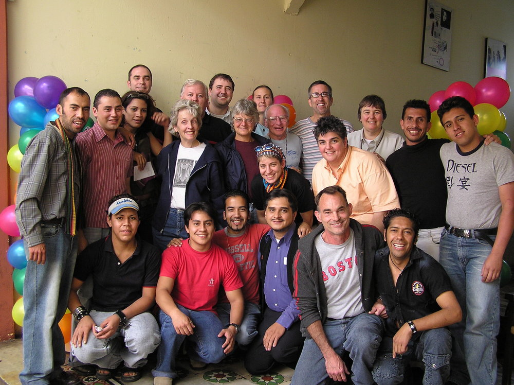 RWF meeting with LGBTQ activists in Guatemala City.