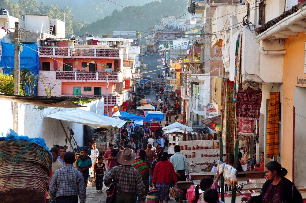 Market Day at Chichicastenango.