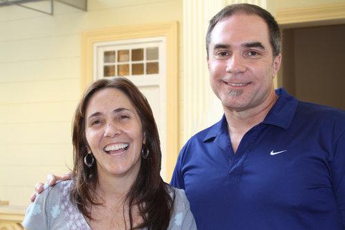 Mariela Castro with Rainbow World Fund founder Jeff Cotter in Havana