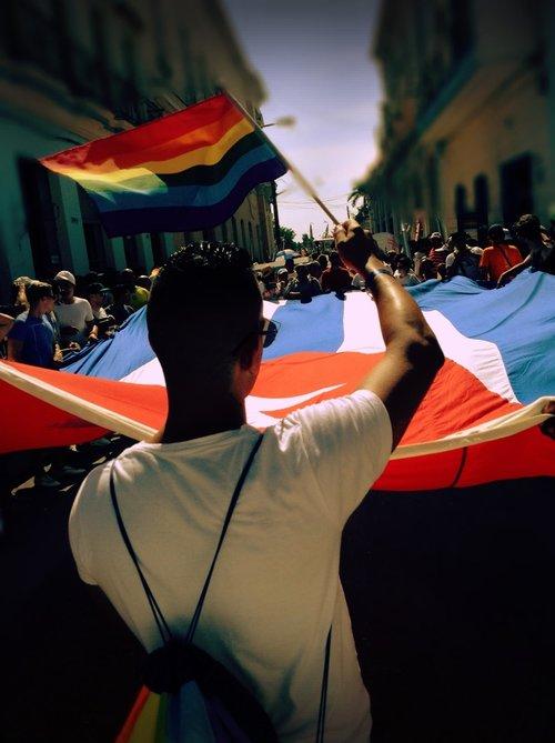 LGBTQ Pride March in Havana.