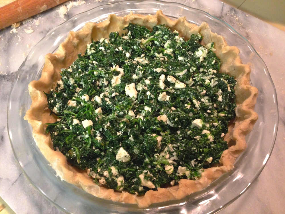 Spinach & Feta Quiche | Kneading Home