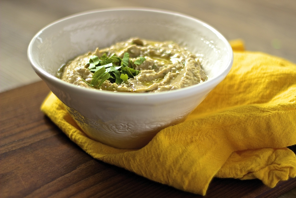 Simple Smoky Baba Ghanoush — Kneading Home