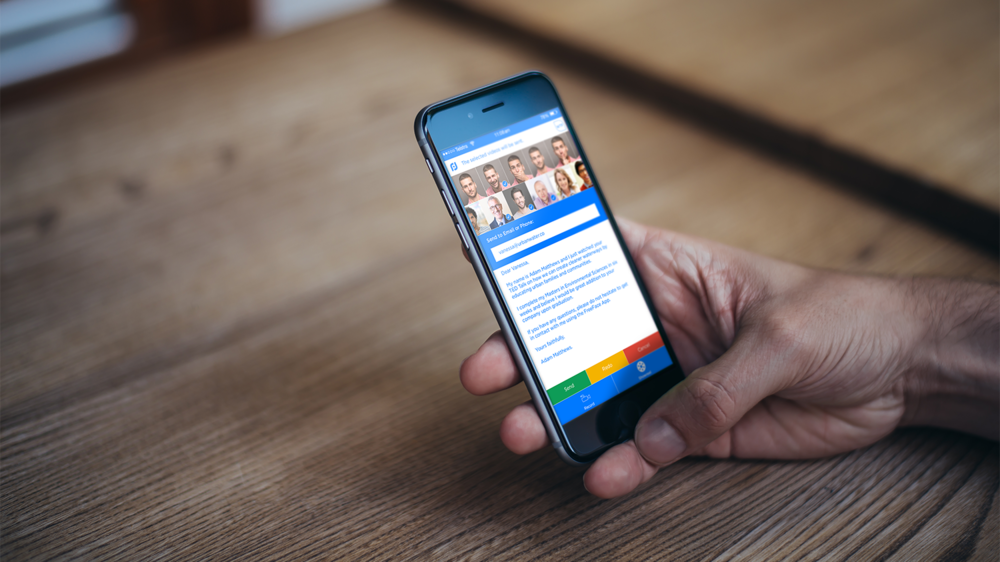 Send and Share a Video Character Reference with any hiring manager.