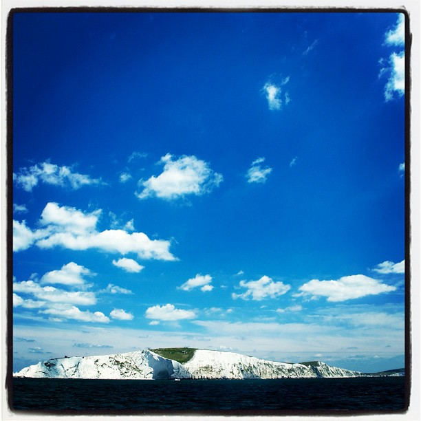 #isleofwight #sea #uk #island #whitecliffs #cliffs #sky #bluesky  www.soperimages.com