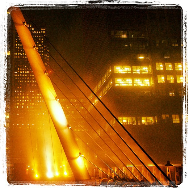 #bridge @ #canarywharf #london #photo #photography  www.soperimages.com