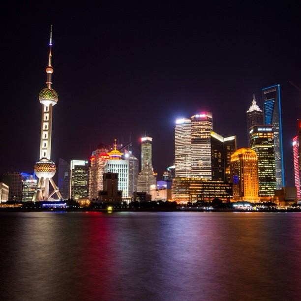 Shanghai from The Bund. #shanghai #china #city #architecture www.soperimages.com