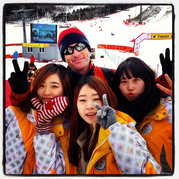 With some of the helpful volunteers @specialolympics World Winter Games #korea2013 #olympics