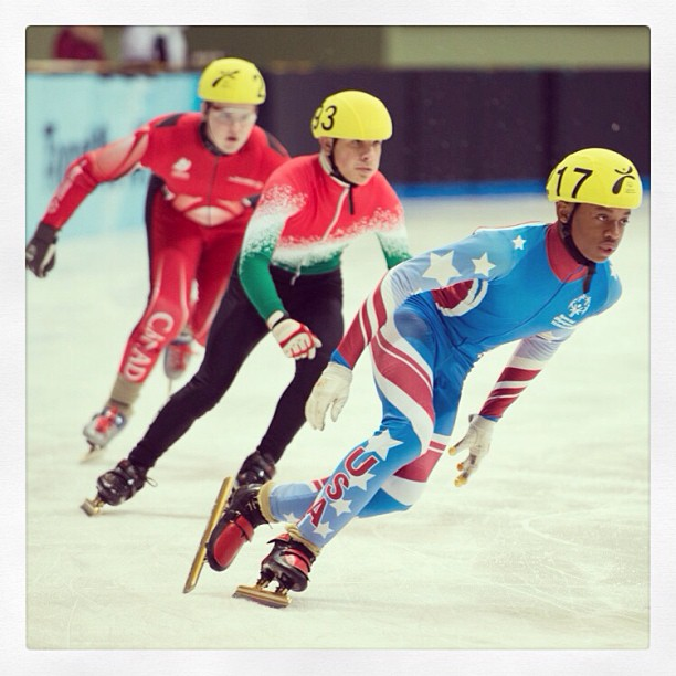 My new favourite #sport. Speed & crashes…what more do you need? @specialolympics #korea2013