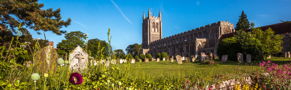 Long Melford Church One