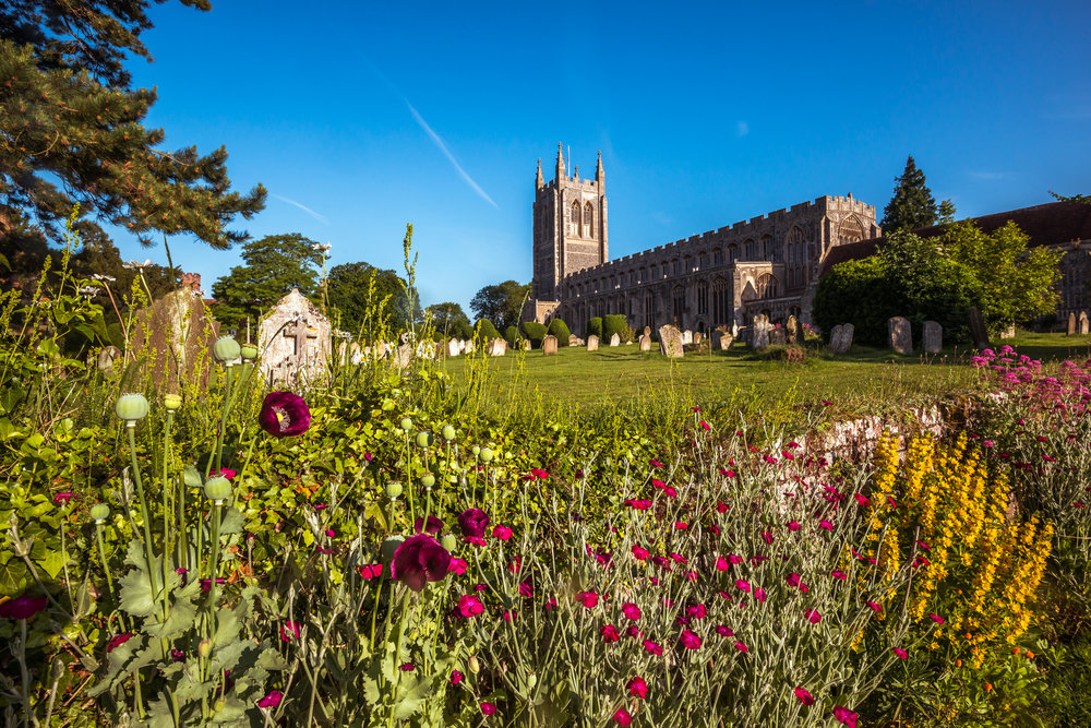 Long Melford Church Two