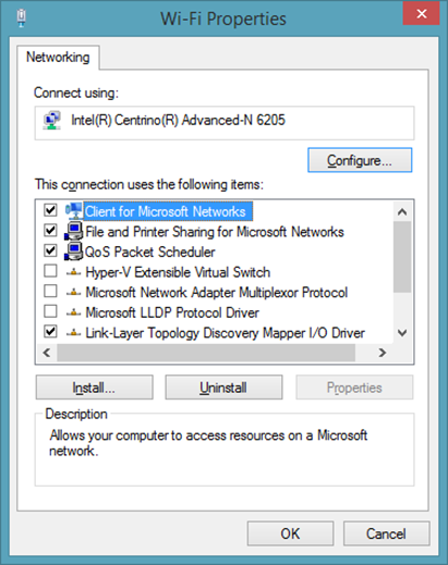 Understanding networking options with a wireless Hyper-V host and