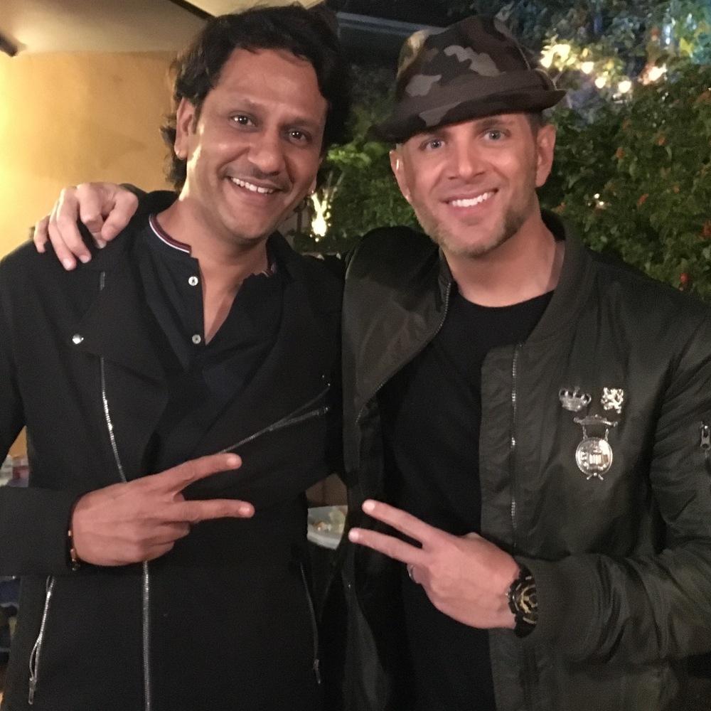 JG Entertainment CEO Jonathan George and Vega Entertainment's Vikram Raju