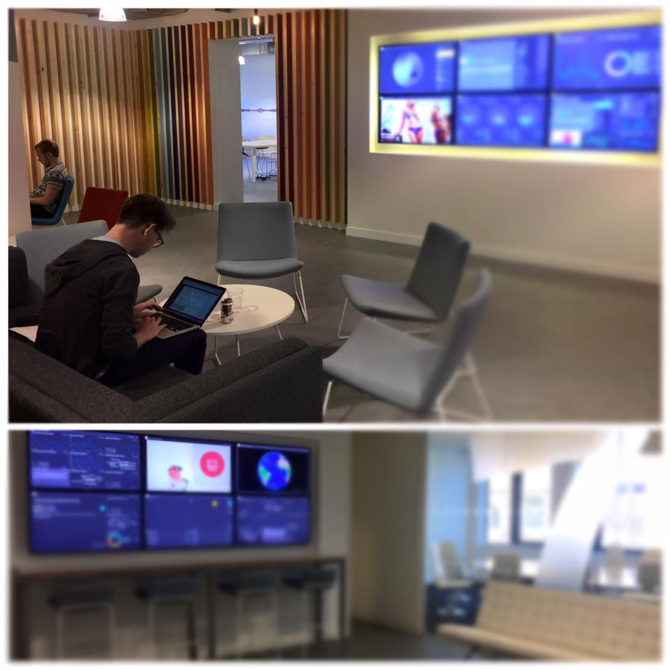 We do the best data visualisation + command centers in the business.