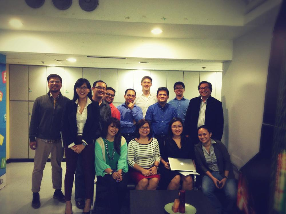 Team Havas Media Ortega for a pitch in the Philippines. Good times.
