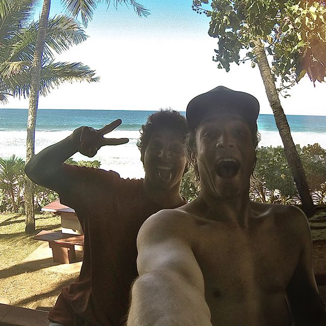 Two legends gone too soon. We celebrate the life of Oscar Moncada, world class surfer, loving human being and beloved friend to so many including Ben. Though these two made most of their memories charging waves together in Puerto Escondido, this photo of Ben and Oscar was captured in Oahu, Jan 2014. // Our thoughts and prayers are with the Moncada family. 🙏