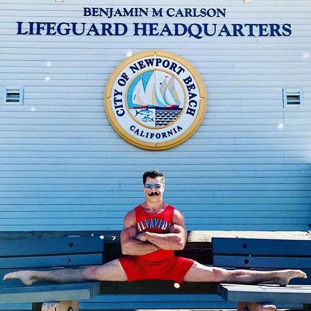 It's not everyday that @cirquedusoleil comes through town and gives your organization a shout. Happy Sunday friends, ha! @ocevents // #notalifeguard #cirquedusoleil #bendidgo