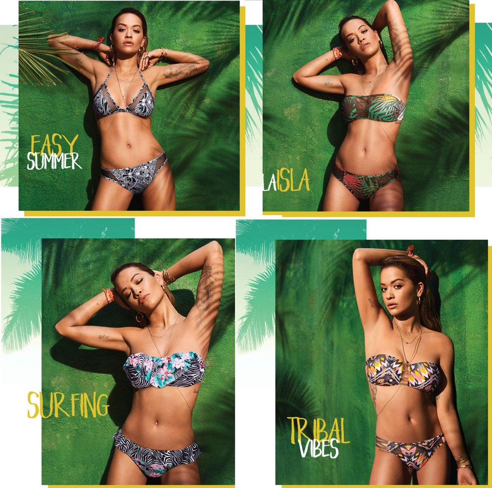 Rita Ora x Tezenis | celebrity campaign