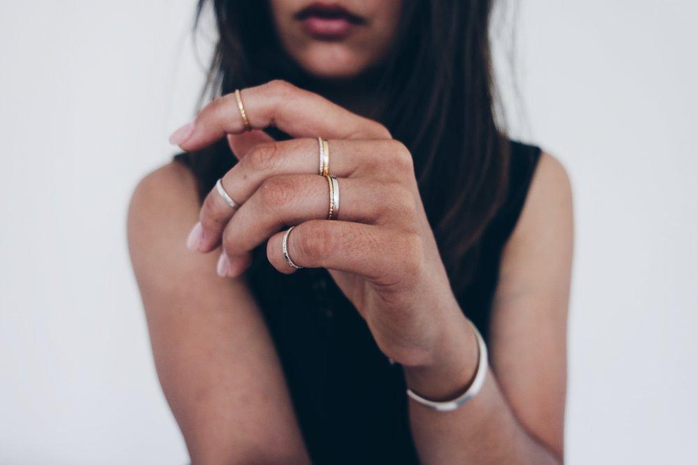Foundation rings & bangle