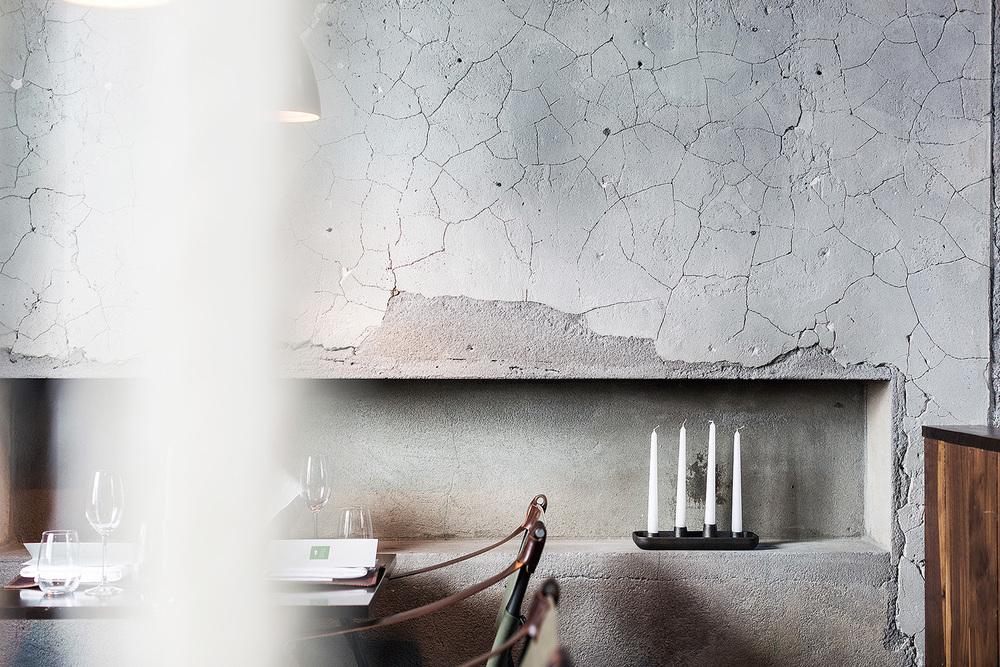 Commissioned work for interior designer Halfdan Pedersen. This is from the Dill restaurant in Reykjavik, servingnew nordic cuisine