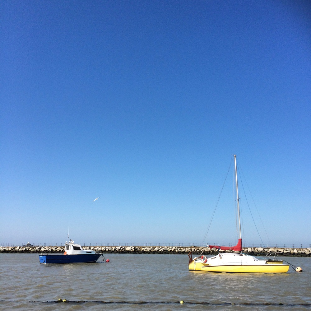 Boats in Herne Bay