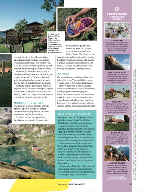 Austria / Balance Magazine