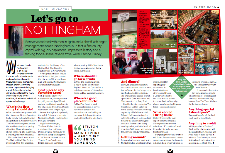 Nottingham / National Express Magazine