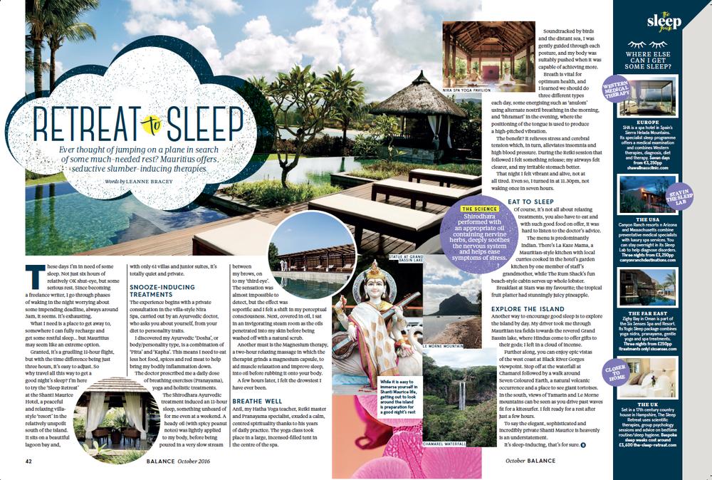 Mauritius / Balance Magazine