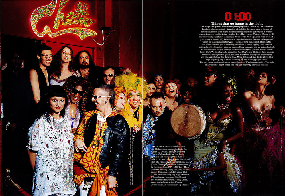Club Kids for Harpers & Queen by Lee Strickland