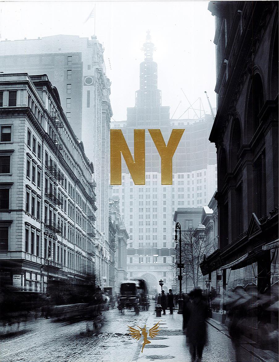 'New York', Gloria Books, 2009