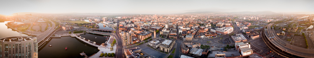 Belfast 360 degree Aerial