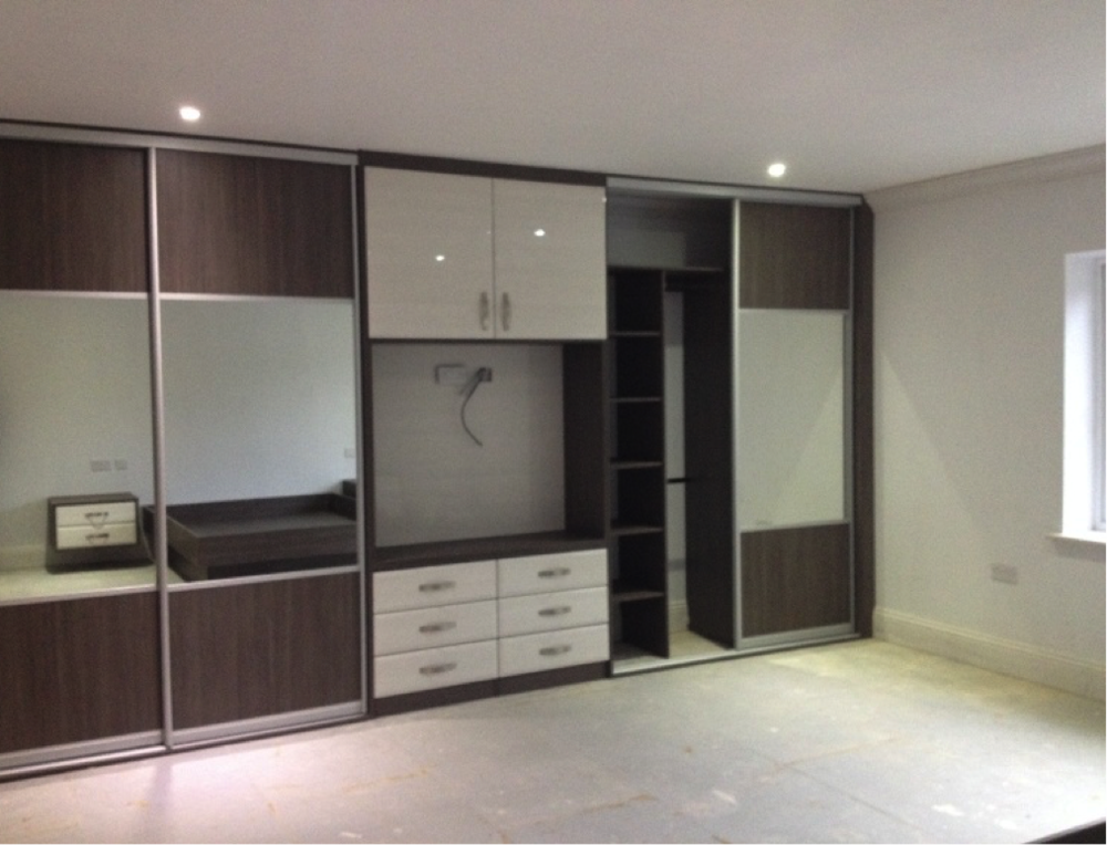 Custom Sliding Wardrobes