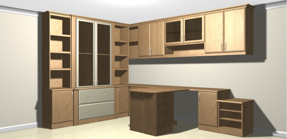 CAD bedroom design