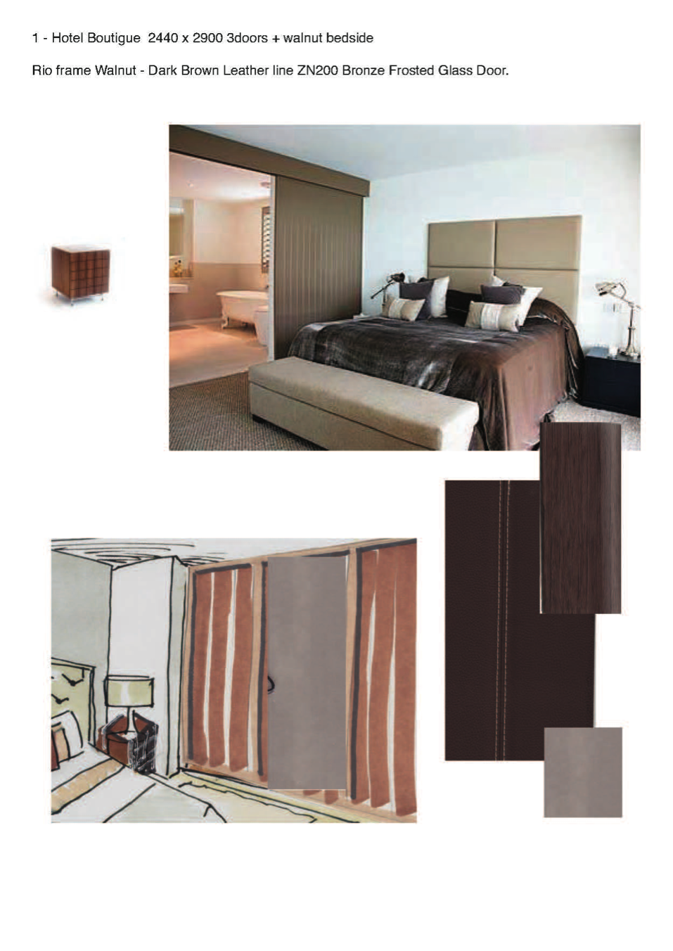 Boutique Sliding Wardrobes Moodboard