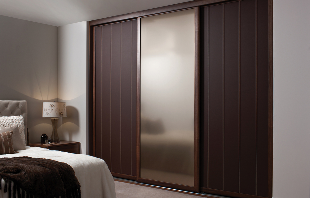Luxury wardrobes with sliding doors