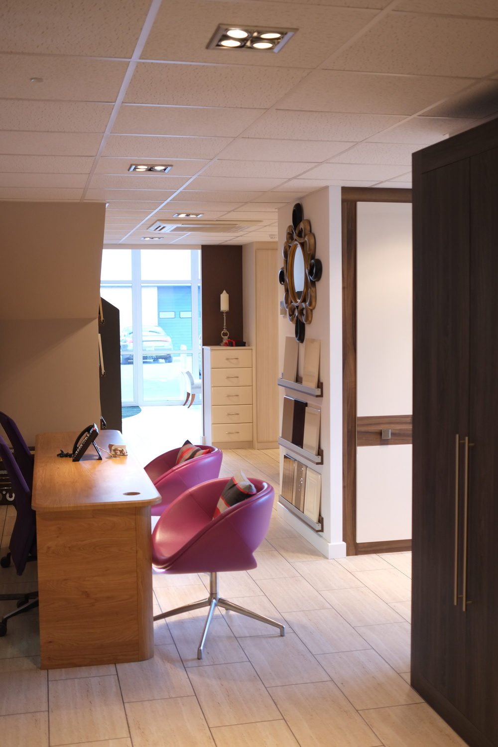 Large Fitted Bedroom Showroom in Hampshire