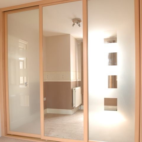 Custom fit sliding wardrobes