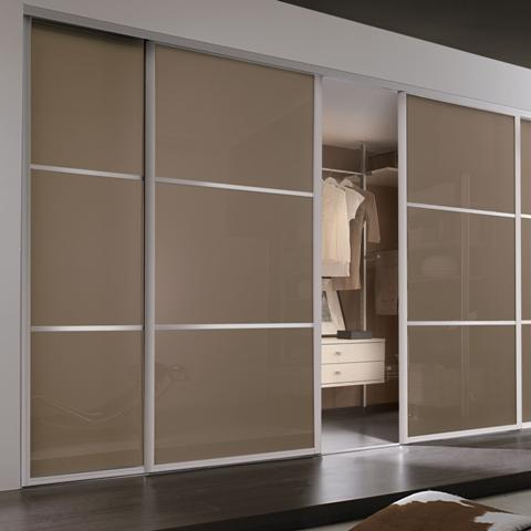 Modern look wardrobes