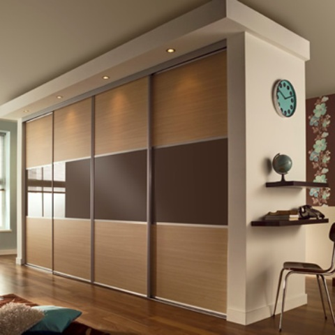 4 door sliding wardrobe