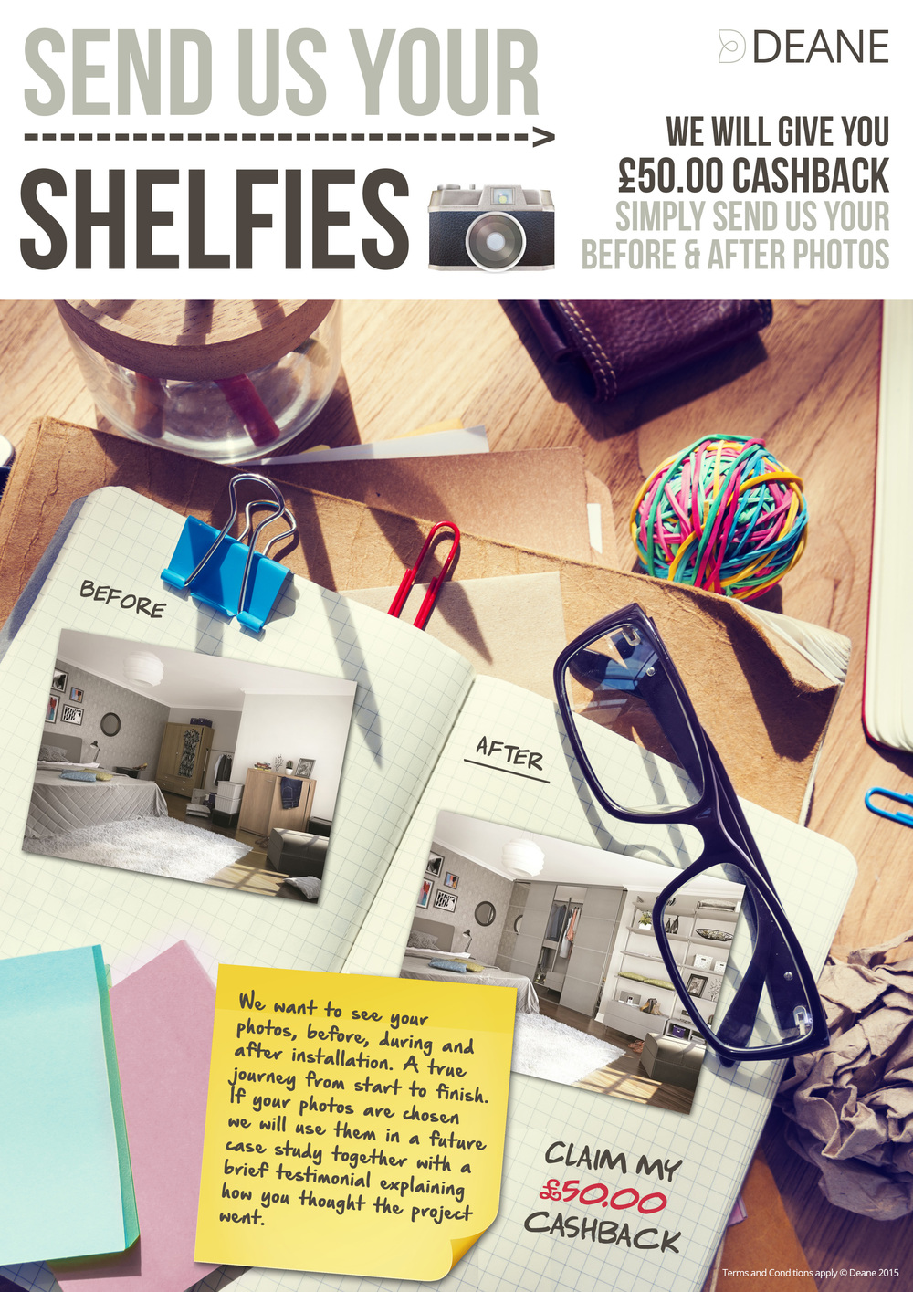 Send Us a Shelfie