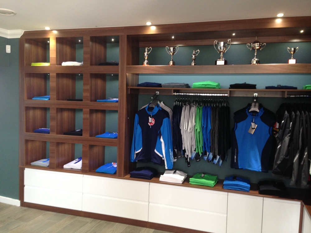 Storage Area in Golf Shop