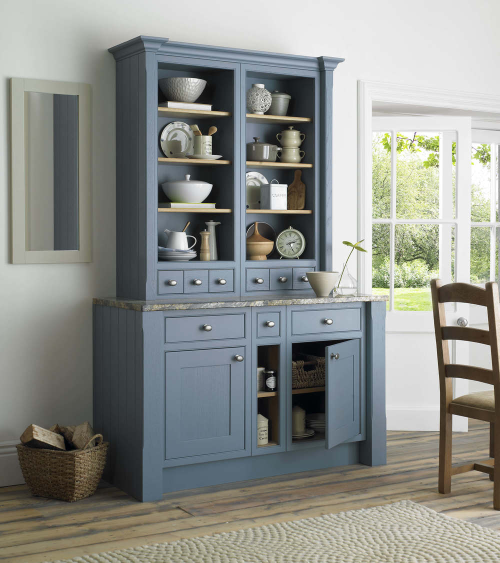 Kitchen Dresser in Priory Blue