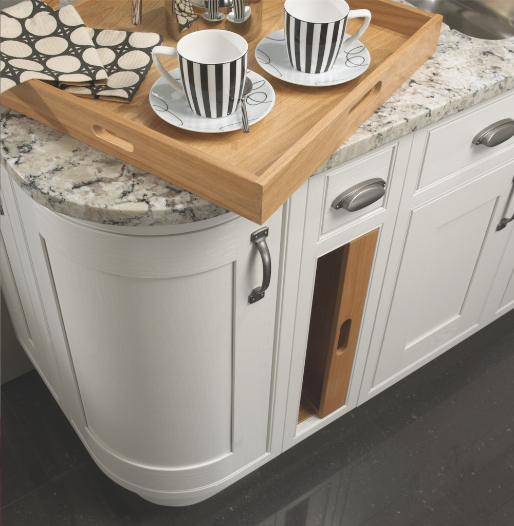 Contemporary Pull Out Trays for Fitted Kitchens