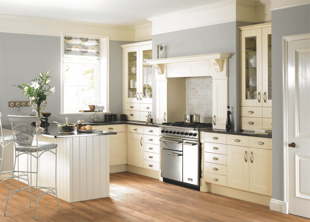 Virginia Cream Traditional Kitchen