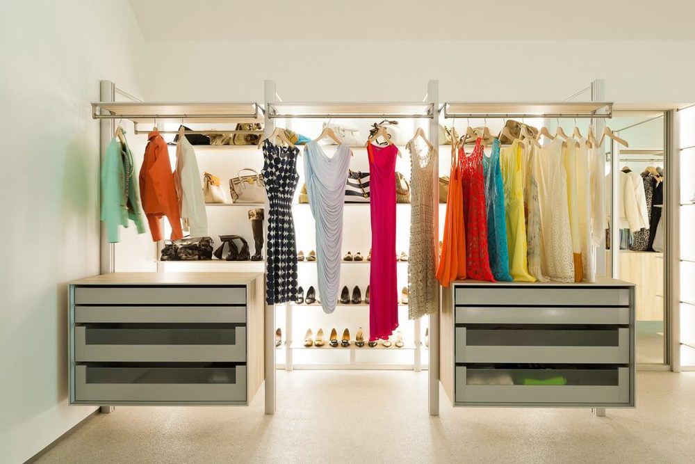 Dressing Rooms, Designed to Fit All Your Clothes    Find Out More >