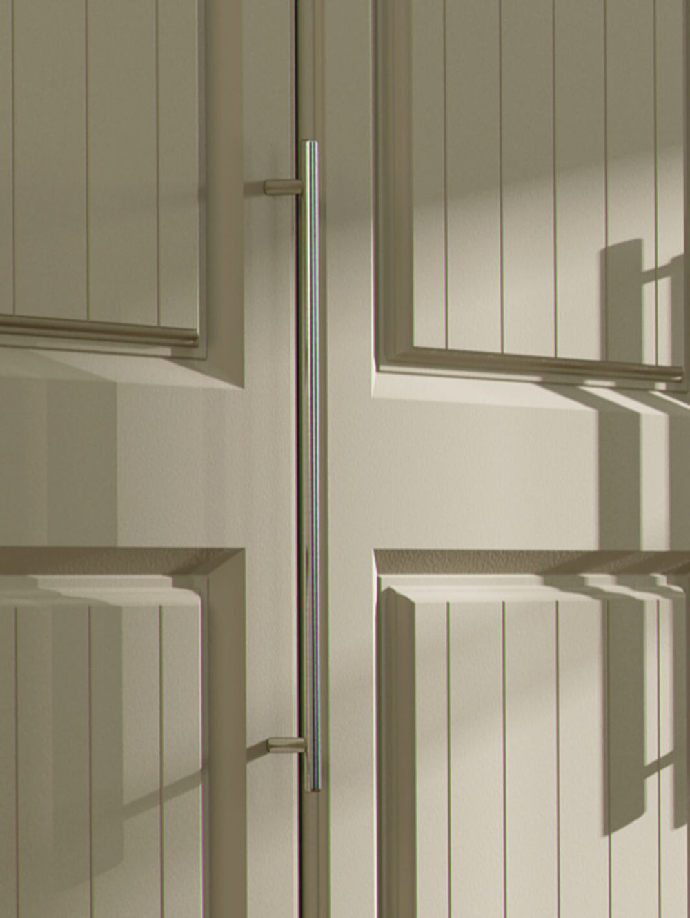 Shaker fitted wardrobe doors