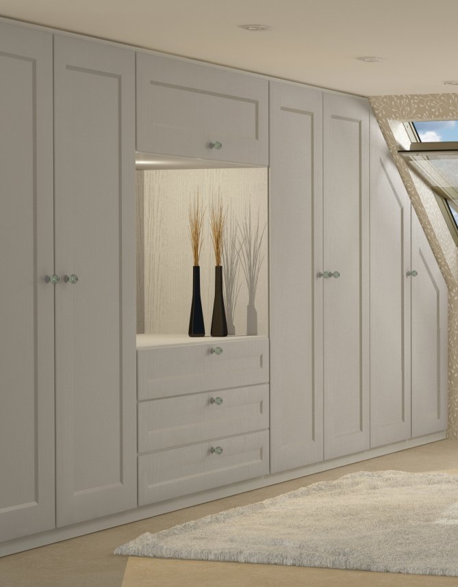 Fitted Furniture with Angled Doors