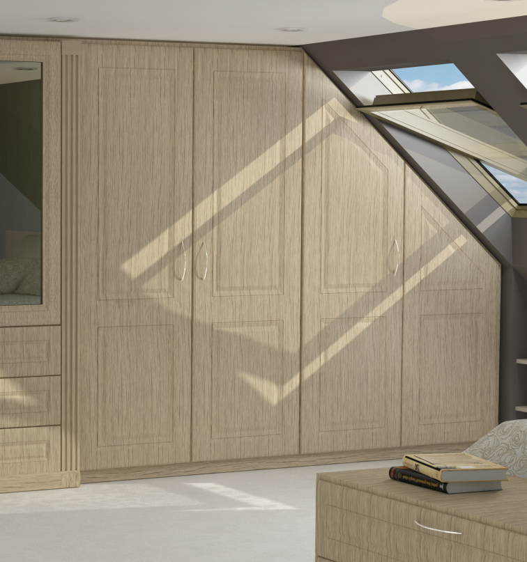 Angled Fitted Wardrobes