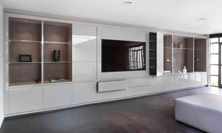 Fitted Furniture For Living Rooms