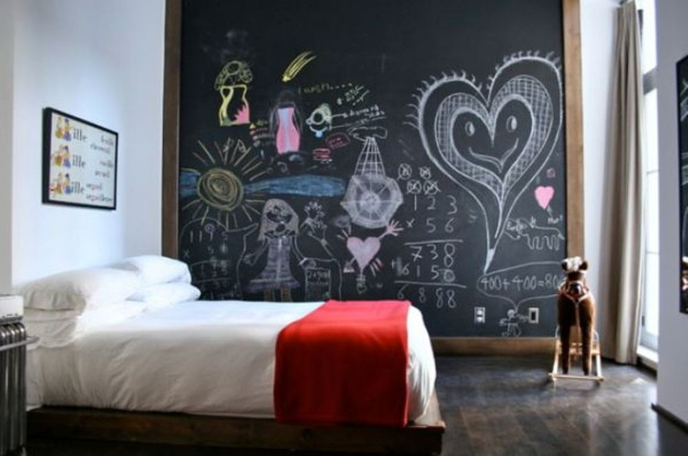 Blackboards in Kid's Bedrooms